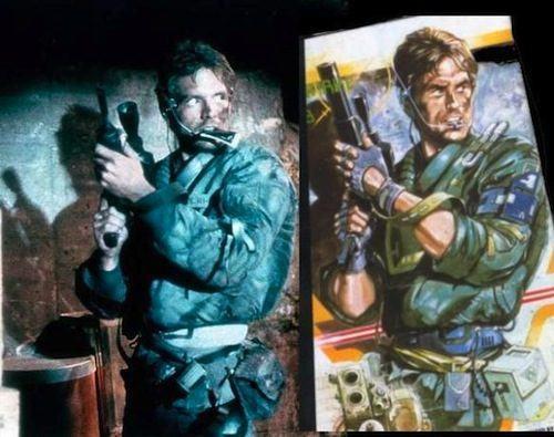 Games/HQs: Quando as capas dos games copiam os cartazes dos filmes Metal-Gear-Terminator