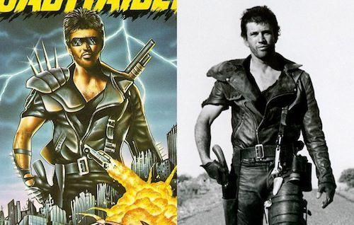 Games/HQs: Quando as capas dos games copiam os cartazes dos filmes RoadRaider-Mad-Max