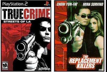 Games/HQs: Quando as capas dos games copiam os cartazes dos filmes True_crime_streets_of_la_-_the_replacement_killers1