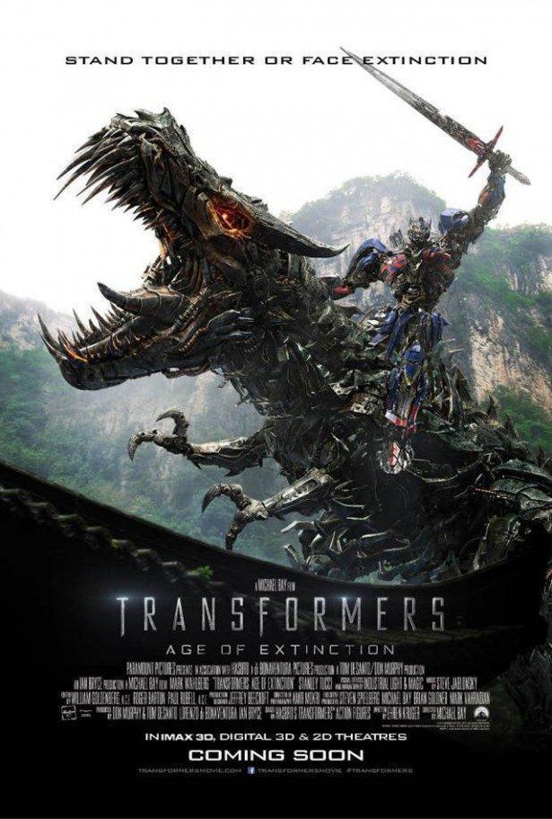 Veja os novos teasers, pôster e imagens de Transformers 4: A Era da Extinção