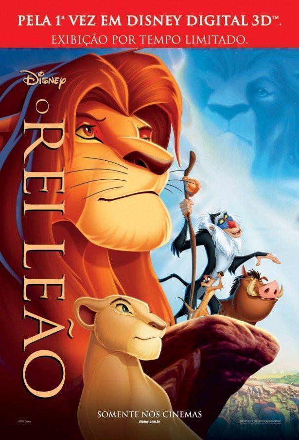 O Rei Leão (1994): a maior obra de arte produzida pelos estúdios Disney -  Cinema com Rapadura