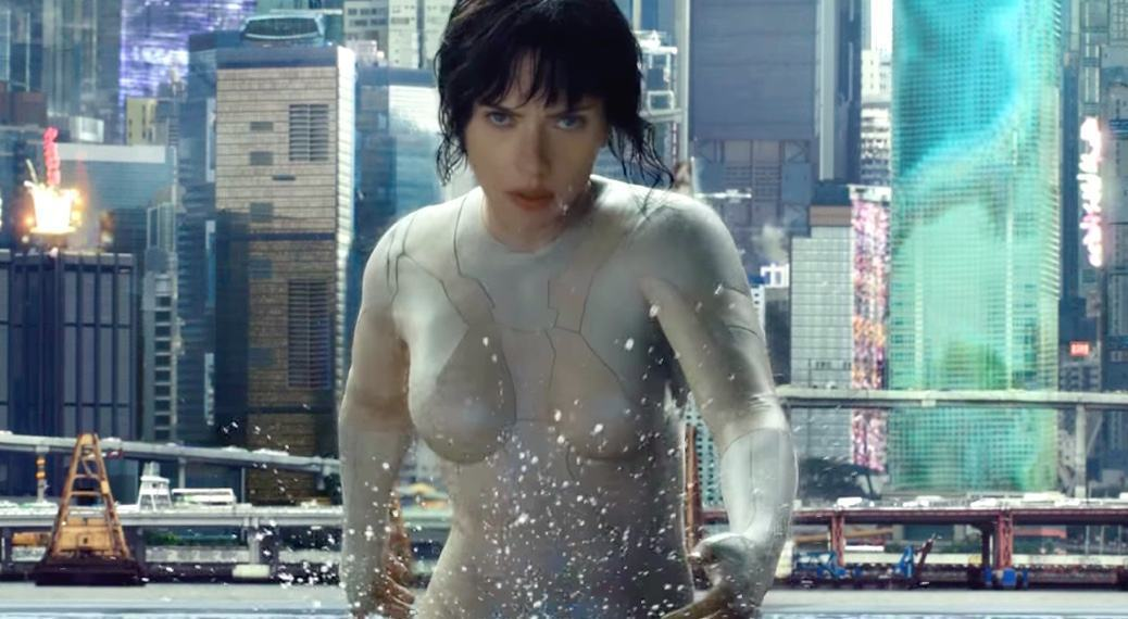 Ghost in the Shell | Novo teaser revela uniforme invisível da protagonista