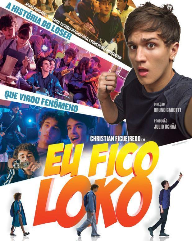 Eu Fico Loko | Veja o trailer da estreia do youtuber Christian Figueiredo no cinema