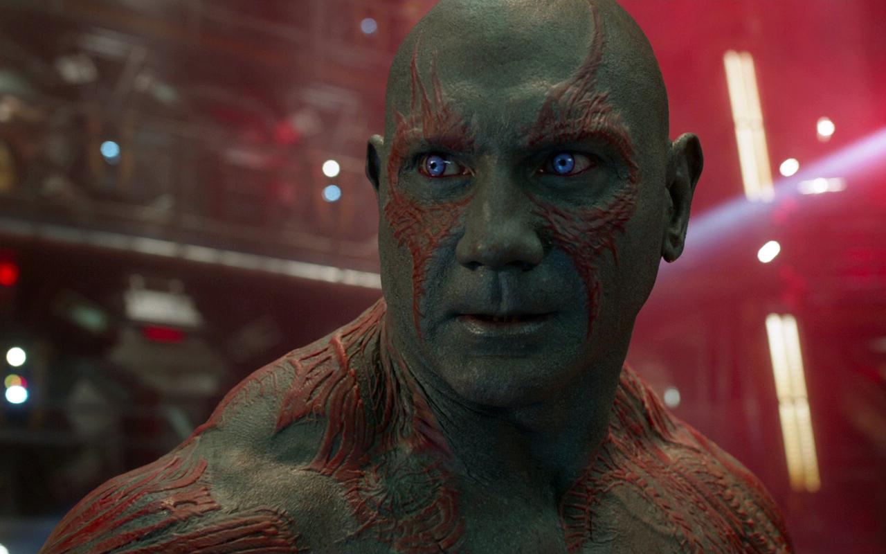 Guardiões da Galáxia Vol. 2 | Drax está indo muito bem em testes de exibição