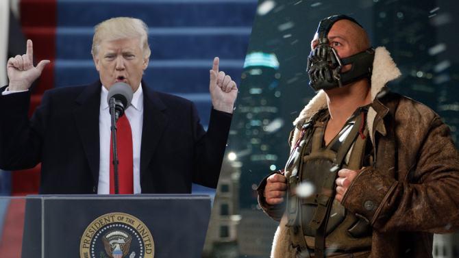 Trump Acidentalmente Cita O Vilão Bane Em Seu Discurso De