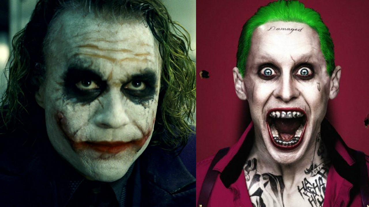 Vídeo cria confronto entre Coringas de Heath Ledger e Jared Leto