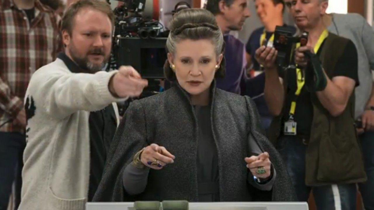 Star Wars: Os Últimos Jedi | Diretor revela que Carrie Fisher ajudou muito no roteiro do filme