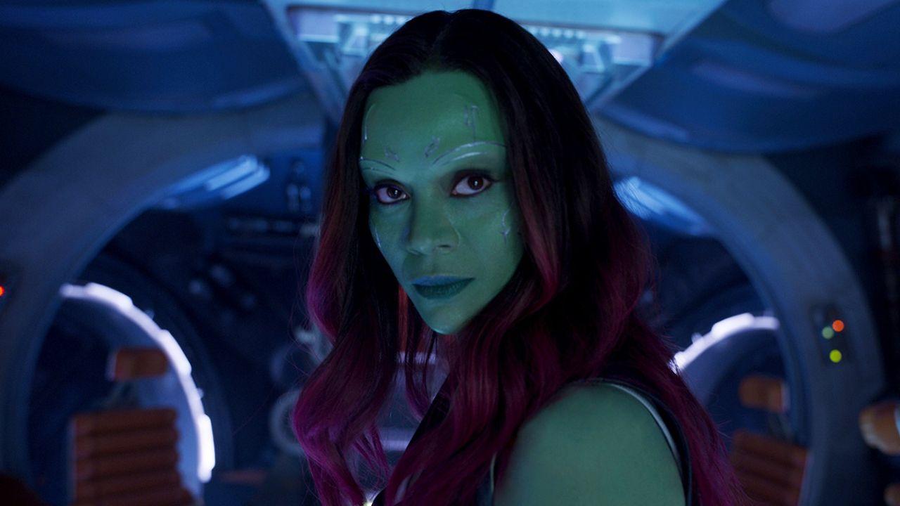 Guardiões da Galáxia Vol. 2 | Zoe Saldana dá pistas sobre o relacionamento de Gamora com Peter Quill no filme