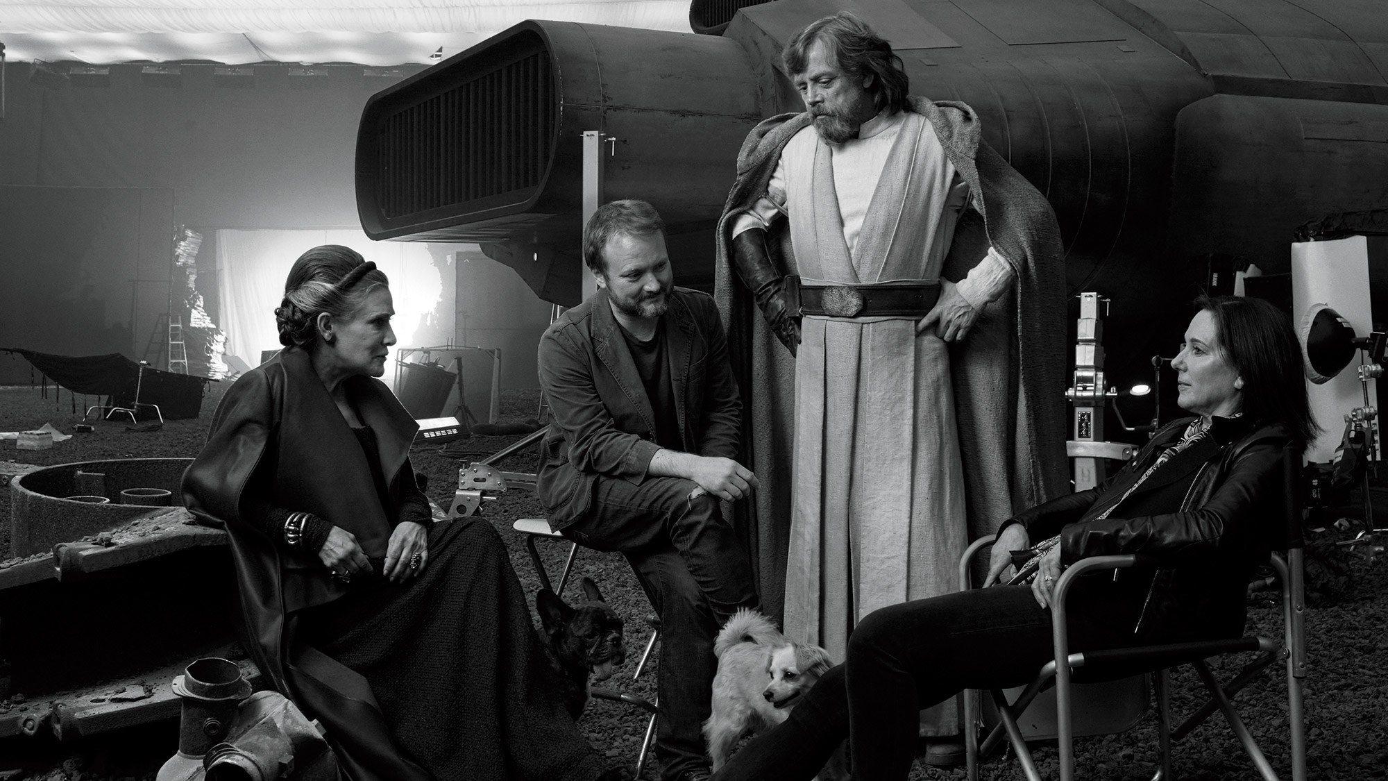 Kathleen Kennedy diz que Carrie Fisher queria ser o centro do Star Wars IX