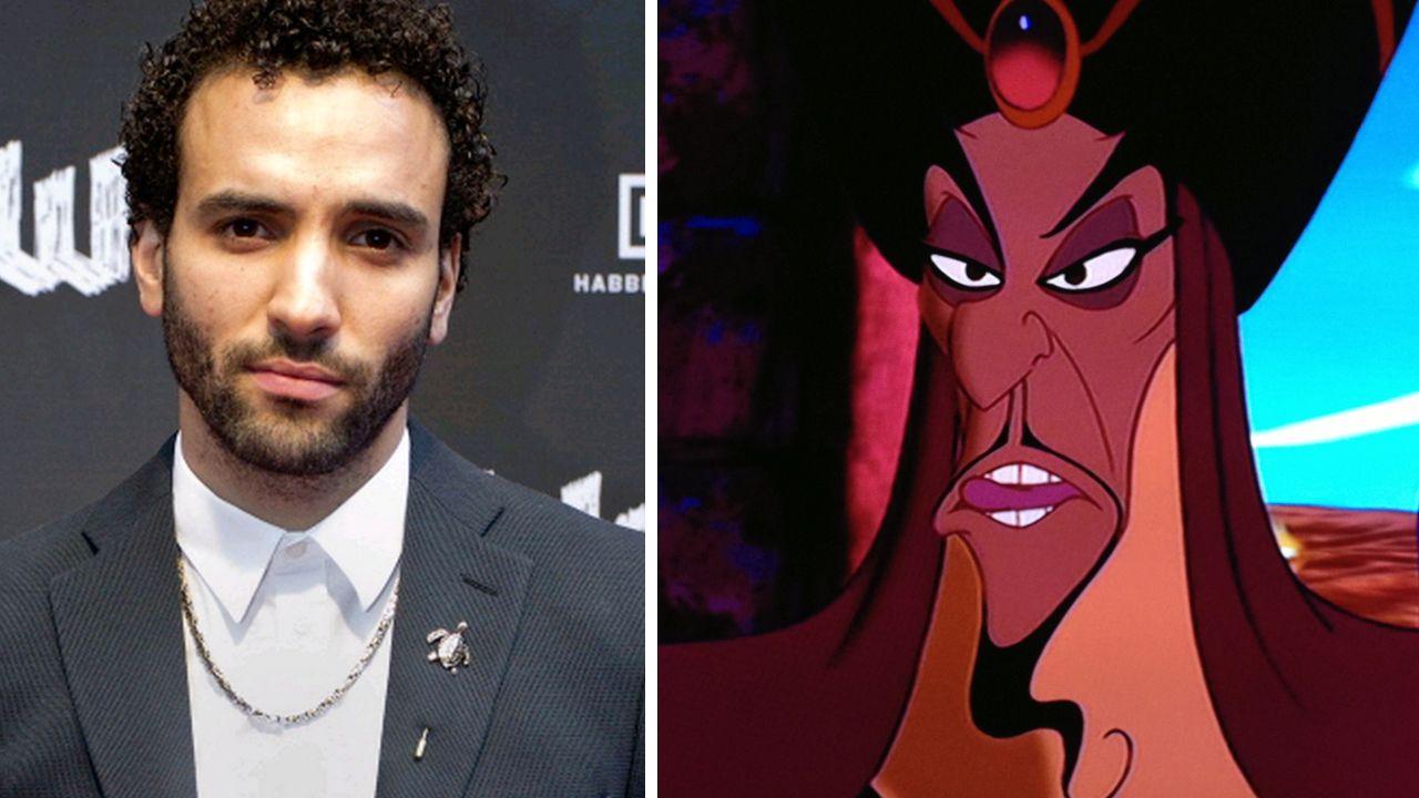Aladdin   Marwan Kenzari foi o escolhido para interpretar Jafar no live-action