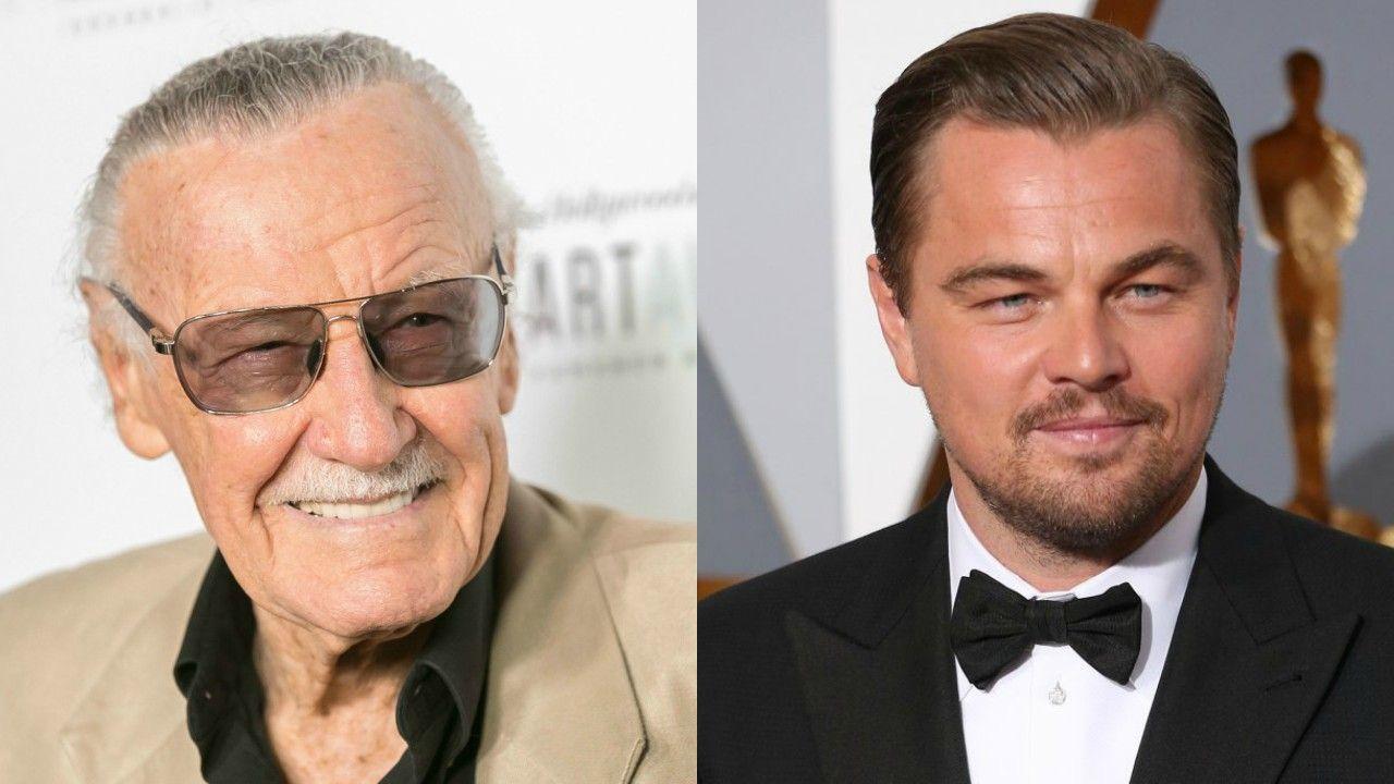 Segundo Stan Lee, Leonardo DiCaprio quer interpretá-lo em cinebiografia