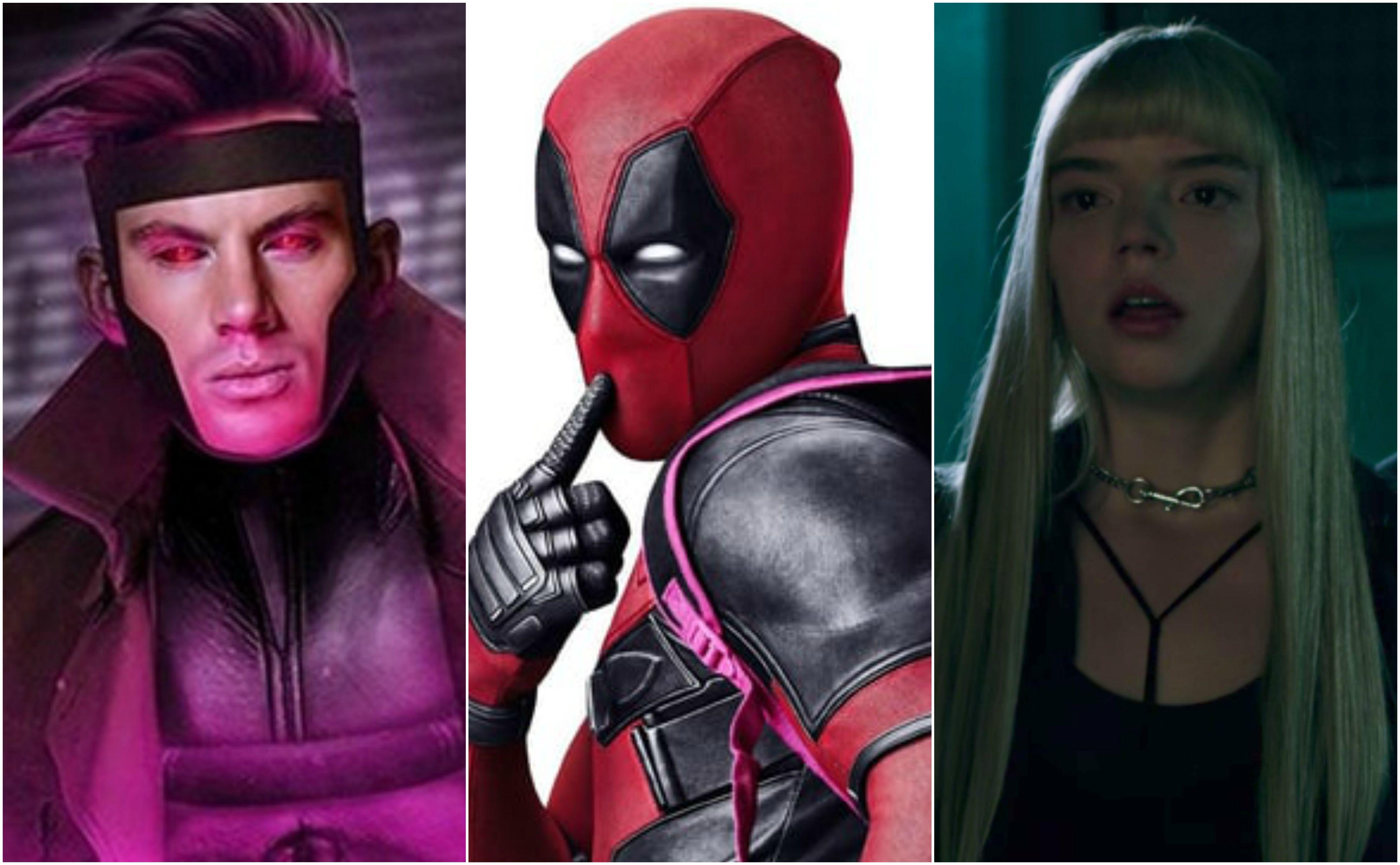 Deadpool 2, Gambit e Os Novos Mutantes ganham nova data de lançamento