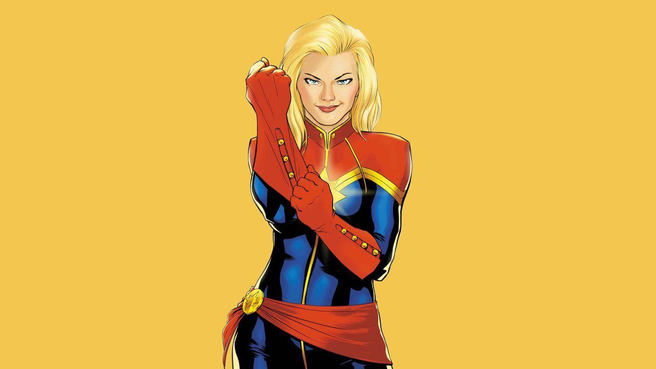 Capitã Marvel | Brie Larson visita base aérea em preparação para o papel