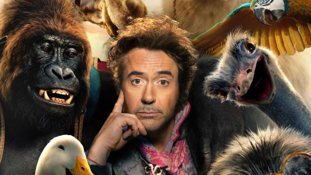 Dolittle   Robert Downey Jr. e animais estão nos cartazes individuais do filme