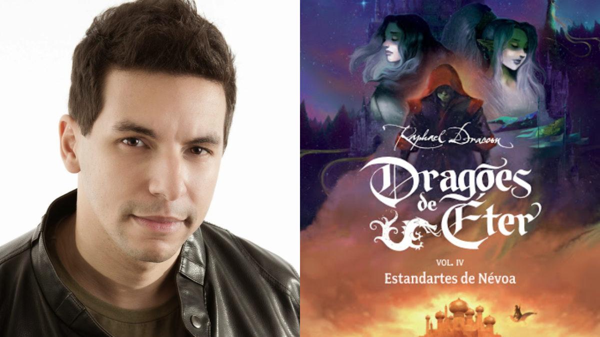 Raphael Draccon lança Estandartes de Névoa, quarto volume da saga Dragões  de Éter - Cinema com Rapadura