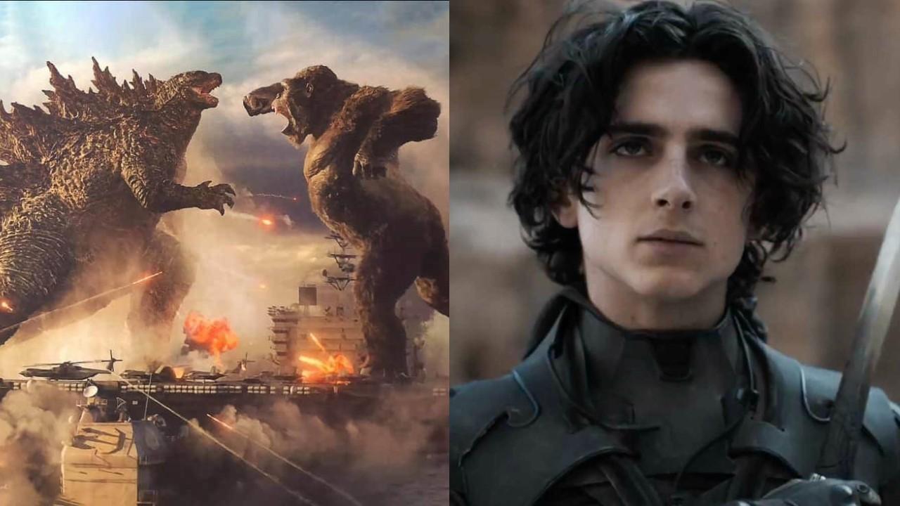 Warner e Legendary se aproximam de acordo sobre lançamentos de Godzilla vs.  Kong e Duna - Cinema com Rapadura